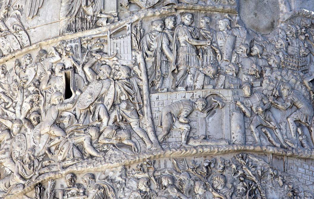 Column Of Marcus Aurelius Scenes
