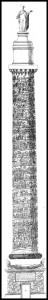 Column of Trajan: Elevation and Section