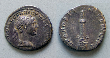 Denarius of Trajan - Yale 2001.87.7376